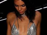 Kendall Jenner Celebrated Her 21st Birthday in a Slinky Silver Dress!