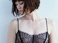 Mary Elizabeth Winstead Posing in a Sheer Bra!