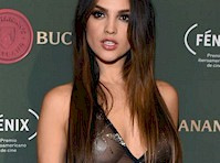 Eiza Gonzalez Wore a Pastie on the Red Carpet!