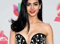 Emeraude Toubia Cleavage on the Red Carpet!