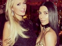 Paris Hilton and Kim Kardashian Finally Reunited!