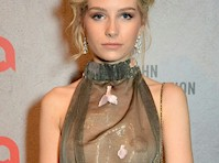 Lottie Moss (<em>Kate Moss&#8217;s</em> Sister) See Through to Pasties!
