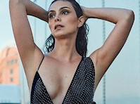 Morena Baccarin Cleavage for <em>GQ Mexico!</em>
