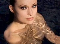 Olivia Wilde Naked in a Pool Shoot from 2007!