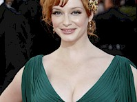 Christina Hendricks Cleavage Collection!