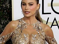 Sofia Vergara was Sexy at the <em>74th Annual Golden Globe Awards!</em>