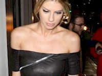 Charlotte McKinney in a Tight Dress!
