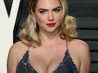 <em>Kate Upton</em> Cleavage at <em>Vanity Fair Oscar Party!</em>