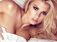 Charlotte McKinney Nude in the Sheets!