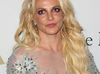 <em>Britney Spears</em> Wore a Semi-Sheer Outfit at a <em>Pre-Grammy</em> Party!