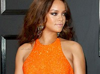 <em>Rihanna</em> was Beautiful at the <em>Grammy Awards!</em>