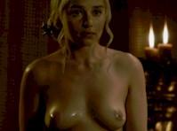 Revisiting Emilia Clarke Topless in <em>Game of Thrones!</em>