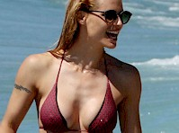 That injures Michelle hunziker smoking want them